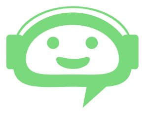 Happy green emoji signifies good audio to use for automated transcription