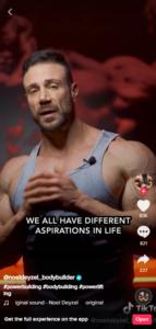 TikTok video with captions