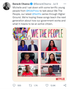 Twitter video with captions