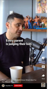 YouTube video with captions